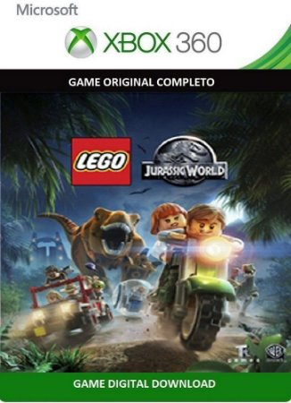Lego Jurassic World Xbox 360 Jogo Digital Original Xbox Live