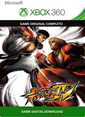 Street Fighter IV Xbox 360 Game Digital Original