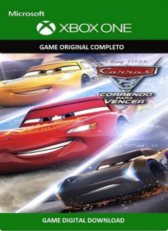Carros 3: Correndo para Vencer Xbox One Game Digital Original