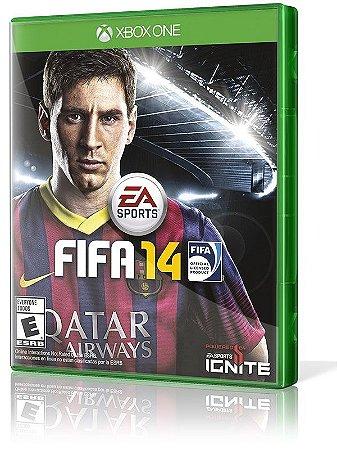 Jogo Xbox One - FIFA 14 - Português - EA