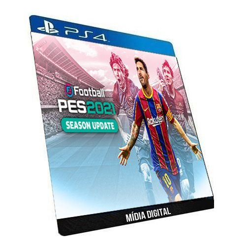 PES 2021 eFootball PS4 Game Digital PSN