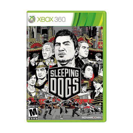 Sleeping Dogs Game Xbox 360 DVD Lacrado