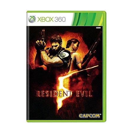 Resident evil 5 Xbox 360 DVD Game Usado