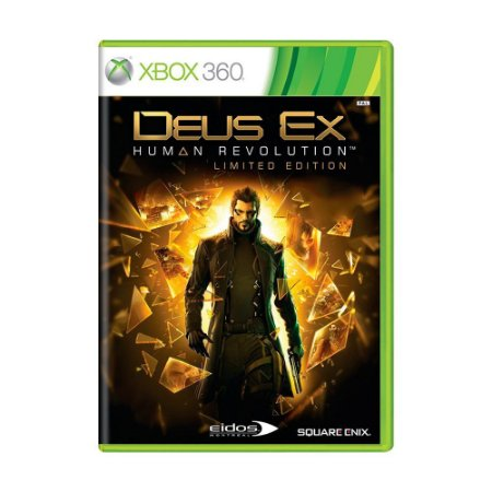 Deus EX: Human Revolution Game Xbox 360 DVD Lacrado