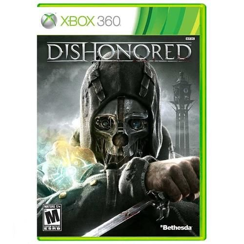 Dishonored Game Xbox 360 DVD Lacrado