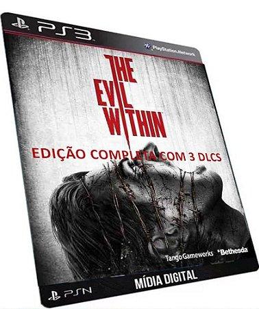 The Evil Within Edição Completa PS3 Game Digitaal PSSN Original