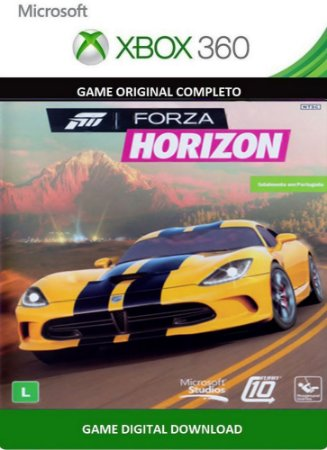 Forza Horizon Xbox 360 Game Midia Digital Original
