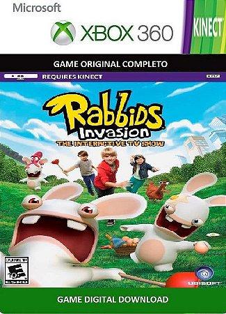 Rabbids Invasion Kinect Xbox 360 Game Digital Xbox Live
