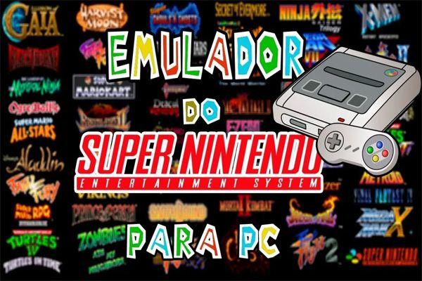 Emulador Snes Super Nintendo 2000 Games PC