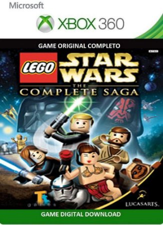 Lego Star Wars A Saga Completa Game Xbox 360