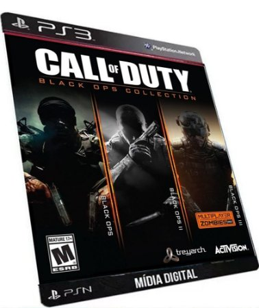 Call of Duty Black Ops Trilogia PS3 Game Digital PSN Original
