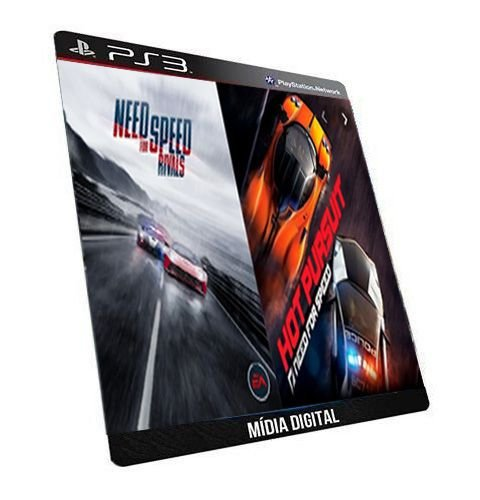Need For Speed Rivals + Hot Pursuit Ps3 Dual Game Digital PSN