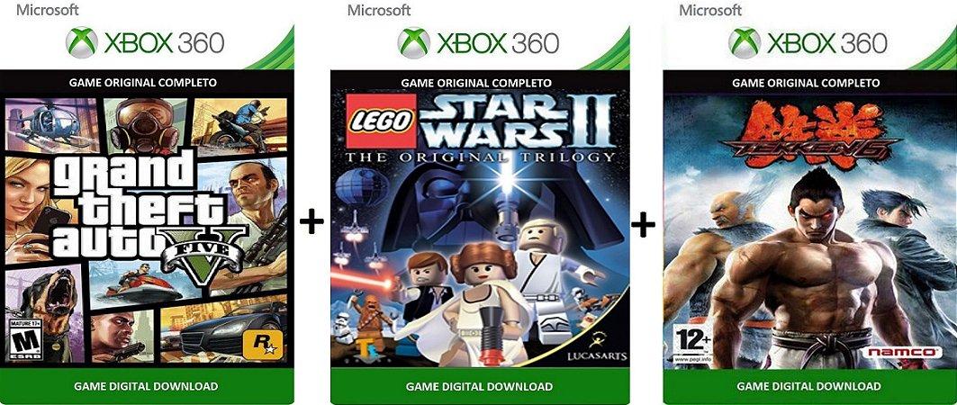 Gta V | Star Wars 2 | Tekken Games Xbox 360