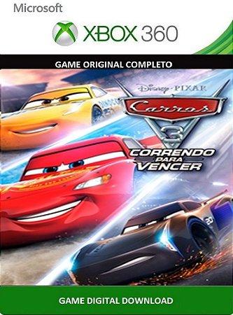 Carros 3 Correndo para Vencer Xbox 360 Game Digital Original Xbox Live