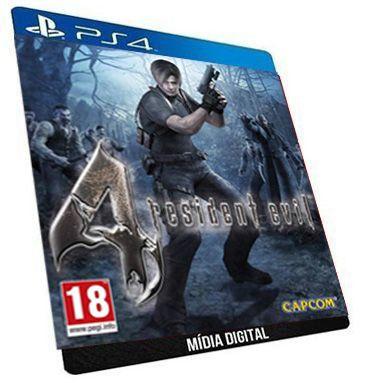 Resident Evil 4 PS4 Digital PSN Game Aluguel
