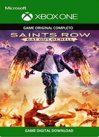 Saints Row: Gat out of Hell Game Xbox One Original Digital