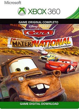 Carros Mater National Championship Xbox 360 Game Digital Original