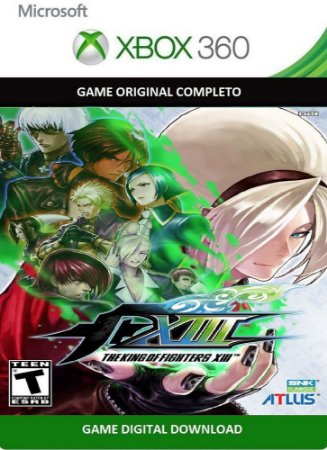 The King of Fighters XIII Game Xbox 360 Digital Original