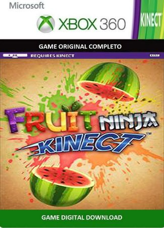 Fruit Ninja Kinect Xbox 360 Game Digital Original