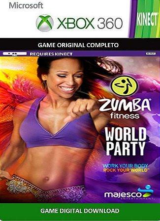 Zumba Fitness World Party Kinect Xbox 360 Game Digital Original