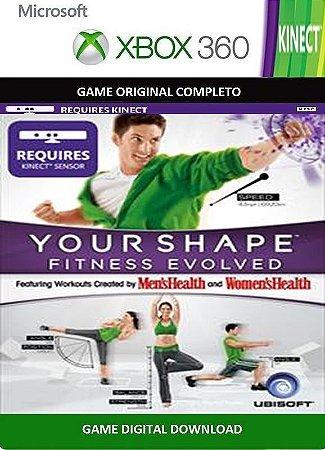 Your Shape Fitness Evolved Kinect Game Xbox 360 Digital Original