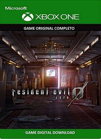 Resident Evil Zero 0 Game Xbox One Original Digital