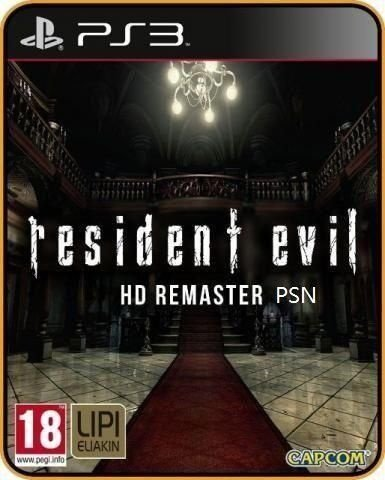 Resident Evil 1 HD - Jogo PS3 Original - Mídia digital PSN