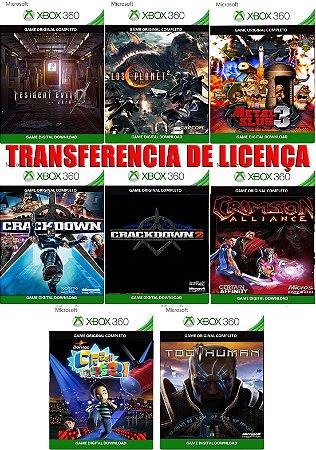 Combo Triplo X + 5 Jogos Gratis Xbox 360 Game Digital Xbox Live