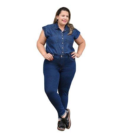 Calça Feminina Plus Size Super Skinny