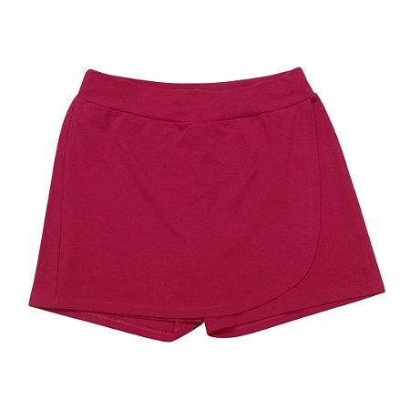 Shorts Saia Gestante Piquet