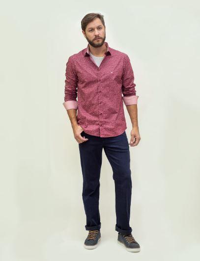 Calça Masculina Plus Size Básica com Elastano Jeans