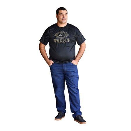 Calça Masculina Plus Size Slim Fit