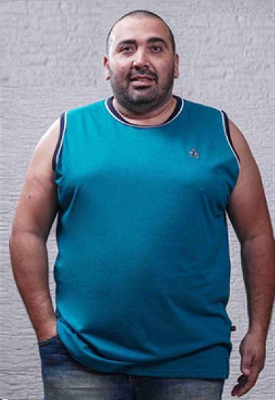 Regata Masculina Plus Size Machão - Cores Diversas