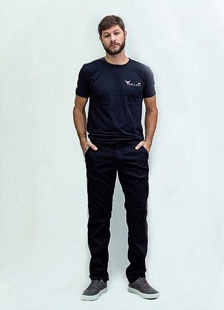 Calça Masculina Plus Size Bolso Faca Jeans com Elastano