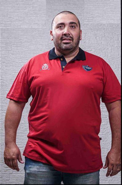 Camiseta Masculina Plus Size Polo We