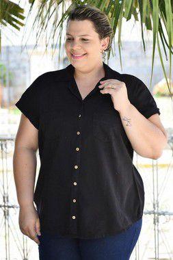 Camisete Feminina Plus Size Sarja