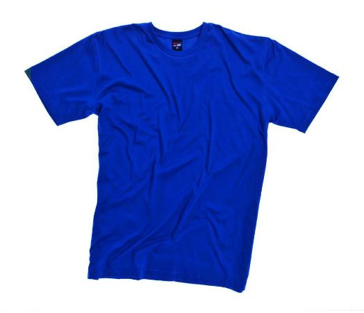 Camiseta Masculina Plus Size Gola Careca Lisa
