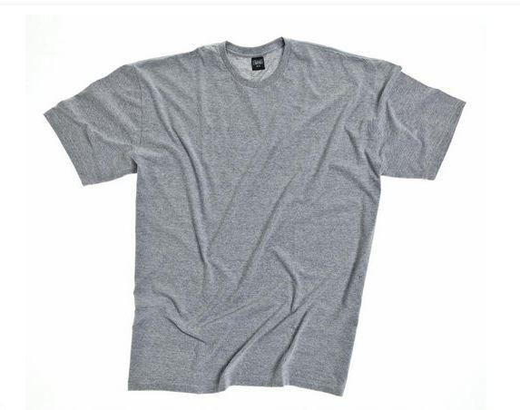 Camiseta Masculino Plus Size Gola Careca Lisa