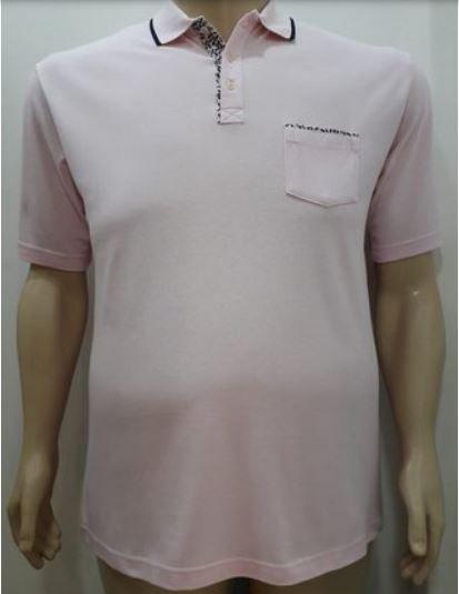 Camiseta Masculino Plus Size Polo Piquet