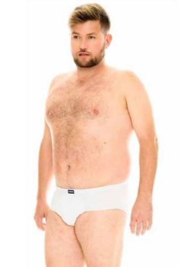Cueca Plus Size Modelo Slip