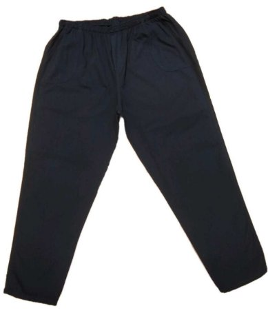 Calça Masculina Plus Size Sarja com Elástico