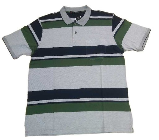 Camiseta Masculina Plus Size Polo Atualitá
