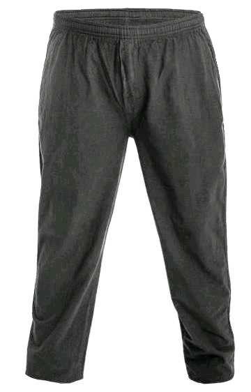 Calça Masculina Plus Size 100% Algodão com Elástico
