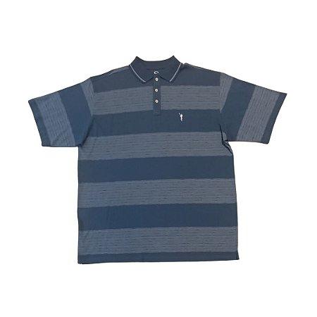 Camiseta Masculina Plus Size Polo Algodão