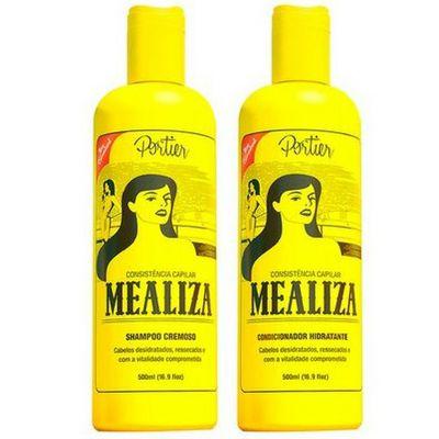 Portier - Mealiza  Shampoo Cremoso + Condicionador Hidratante 500ML