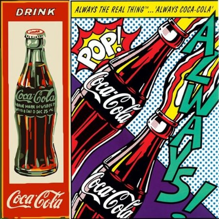 Placa MDF 20 x 20 - Coca Cola
