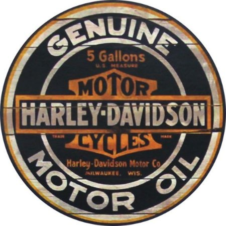Placa MDF 20 CM - Harley Davidson