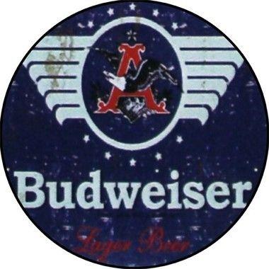 Placa MDF 30 CM - Budweiser