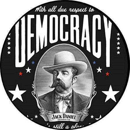 Placa MDF 20 CM - Democracy