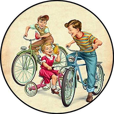 Placa MDF 20 CM - Bicicletas